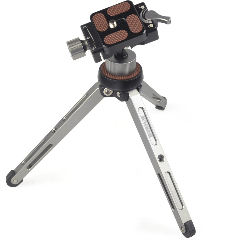 Kaiser solid 3+ Mini-Stativ-SET mit 2fix Kugelneiger