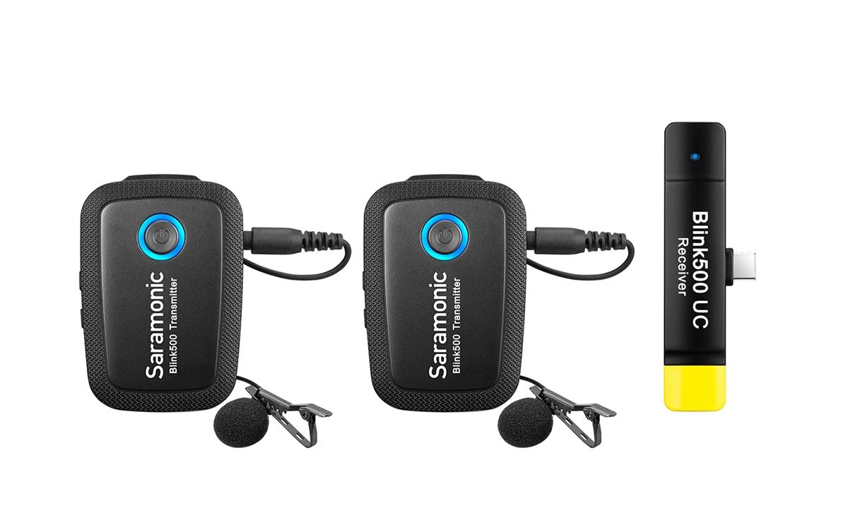 Saramonic Blink 500 B6 (TX+TX+RXUC) 2x Transmitter+1x Receiver USB Typ-C