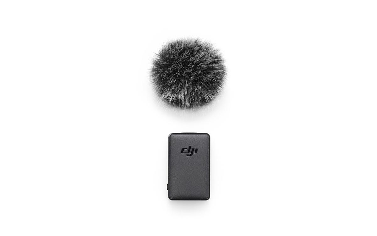 Dji Pocket 2 Funkmikrofon mit Windschutz
