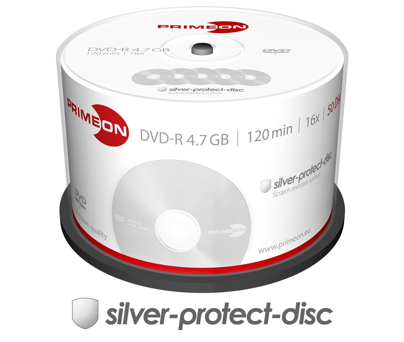 Primeon DVD-R 16x, 50er Spindel
