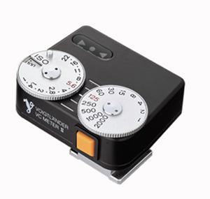 Voigtländer Belichtungsmesser schwarz universal (VC-meter II)