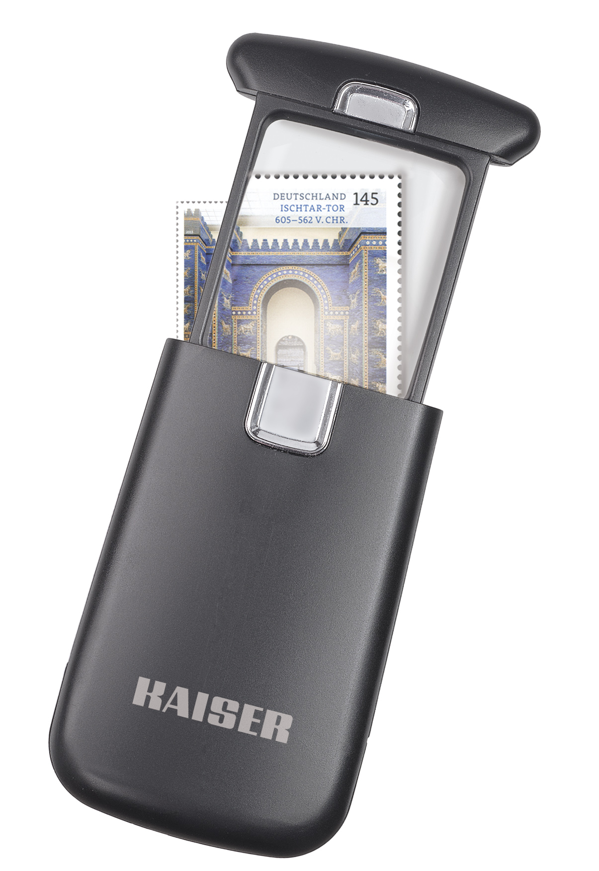Kaiser Taschenlupe 3-fach LED Beleuchtung