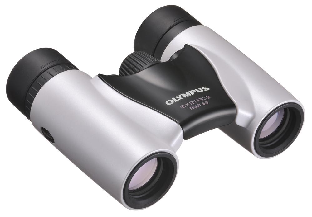 Olympus Ultra Kompakt 8x21 RC II weiß Fernglas