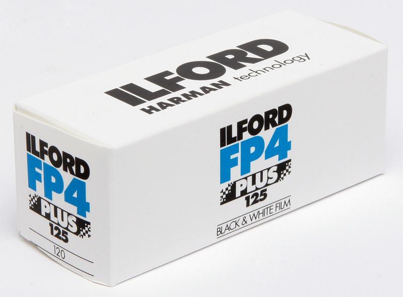 Ilford FP 4 plus 120 SW-Rollfilm