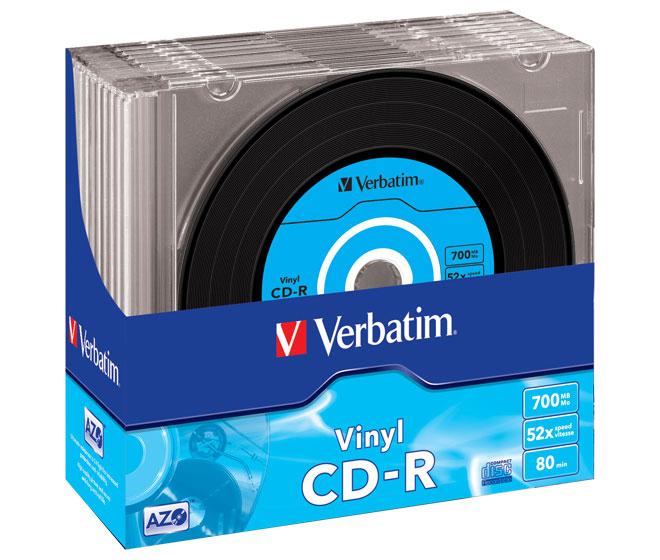 CD-R Vinyl, 10er Slimcase